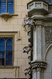 Slott Lednice i Moravia arkivfoto