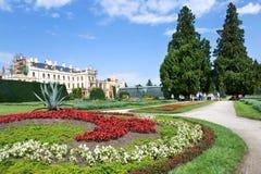 Slott Lednice (UNESCO), Tjeckien Arkivfoton