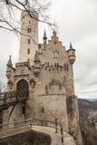 Slott Lichtenstein, Tyskland Royaltyfria Foton