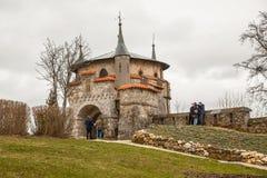 Slott Lichtenstein, Tyskland Arkivbild
