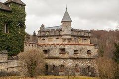 Slott Lichtenstein, Tyskland Royaltyfri Foto