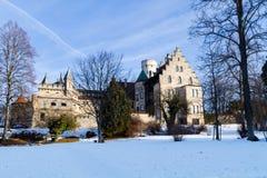 Slott Lichtenstein, Tyskland Arkivfoton