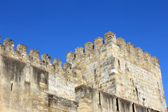 Slott Lisbon, Portugal Arkivbilder