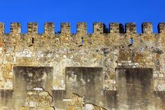 Slott Lisbon, Portugal Royaltyfria Bilder