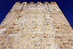 Slott Lisbon, Portugal Fotografering för Bildbyråer