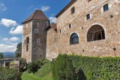 slott ljubljana slovenia Royaltyfri Foto