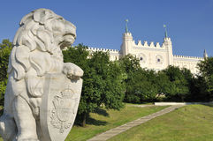 slott lublin poland Royaltyfri Fotografi