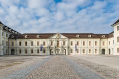 Slott Ludwigsburg Royaltyfria Bilder