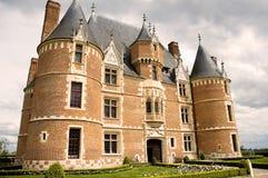 Slott Martainville - Normandie (Frankrike) royaltyfri fotografi