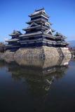 slott matsumoto Royaltyfri Fotografi