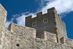 slott medeltida Central Europe Arkivbild