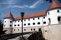 Slott Mokrice Slovenien Arkivfoto