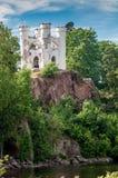 Slott Monrepos på en vagga Royaltyfri Bild