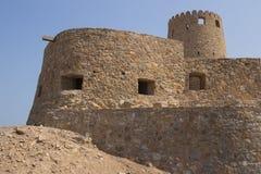 Slott mot blåttskyen Royaltyfri Foto