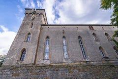 Slott nära Szczytna Royaltyfria Bilder