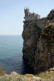 Slott nära Yalta, svalarede royaltyfri fotografi