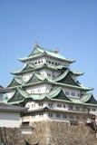slott nagoya Arkivfoto