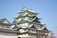 slott nagoya Arkivbild