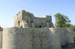 Slott Neamt i Rumänien Royaltyfri Bild