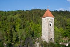 Slott Nejdek, Tjeckien arkivfoto