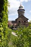 slott nuremberg royaltyfri bild
