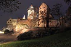 slott nuremberg fotografering för bildbyråer