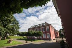 Slott oberhausen Tyskland arkivbilder