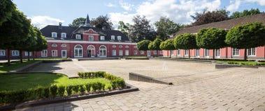 Slott oberhausen Tyskland royaltyfri fotografi
