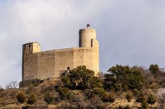 Slott och college- kyrka av Mur Arkivbilder