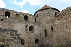 Slott ointaglig fästning Royaltyfria Bilder
