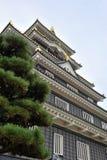 slott okayama Royaltyfria Bilder