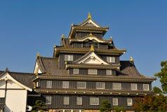 slott okayama Royaltyfri Bild
