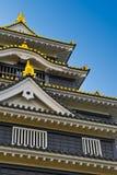 slott okayama Arkivfoton