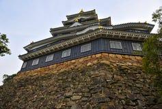 slott okayama Arkivbild