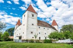 Slott Orth, Österrike, arkitektonisk plats Fotografering för Bildbyråer