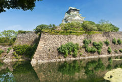 slott osaka Arkivbild