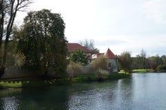 Slott Otocec, Slovenien Royaltyfri Fotografi