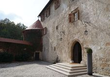 Slott Otocec, Slovenien Royaltyfria Bilder