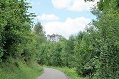Slott på MÃ-¼hlheim på danube Royaltyfria Foton