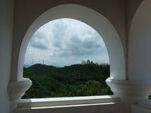 Slott på Mt Arkivbilder