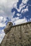 Slott på solig dag Royaltyfri Bild