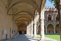 slott pavia arkivfoto