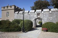 slott portland arkivbild