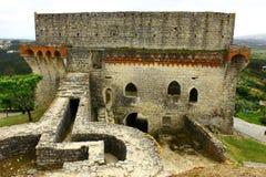 Slott Porto de Mos, Portugal Royaltyfri Foto