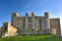 slott portugal arkivbilder