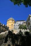 slott portugal arkivbild