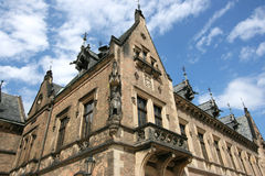 slott prague Arkivbild