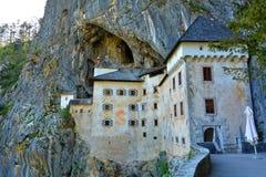 Slott Predjama, Slovenien Arkivfoto