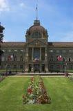 slott rhine royaltyfria bilder