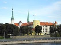 slott riga Arkivbild